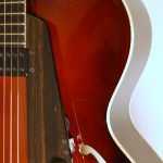 """Kent Armstrong pickup, with 1/8"""" mini-jack, volume control  and tone control."""